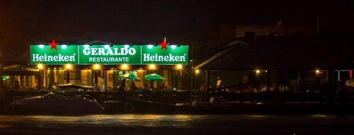 Geraldo's Restaurante is one of Lugares favoritos de M.a..