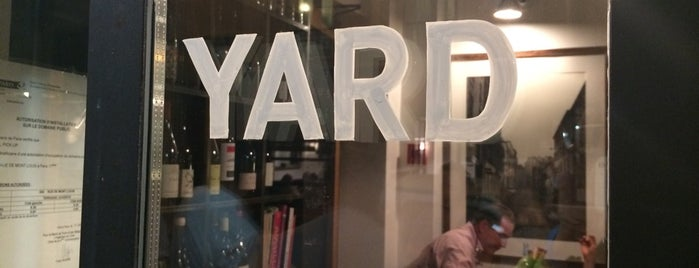 Yard is one of Restos.