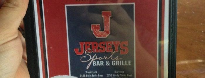 Jerseys Sports Bar & Grille is one of Chia : понравившиеся места.