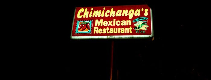Chimichangas Mexican Restaurant is one of Jonathan 님이 좋아한 장소.