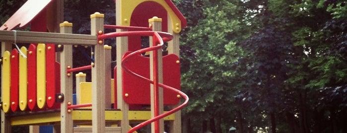 Детская площадка в Александровском саду is one of Питер с семьей.