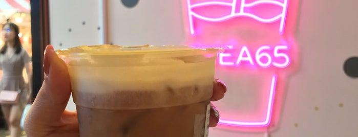 TEA65° is one of BKK_Tea/ Chocolate/ Juice Bar.