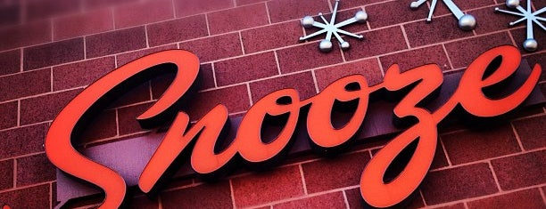 "Snooze, an A.M. Eatery is one of DENVER ""BRONCOS""... BRO."