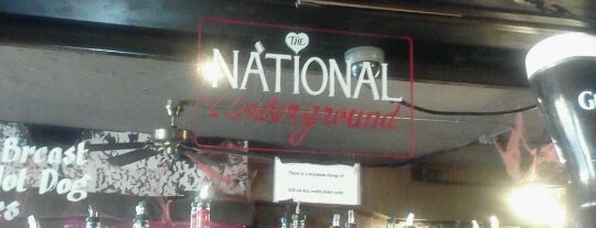 National Underground is one of Weekday Specials.