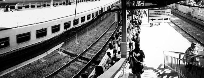 Stasiun Tanah Abang is one of Jakarta Pusat.