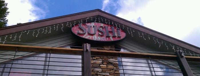 The Sushi Bar is one of Lugares favoritos de Anthony.