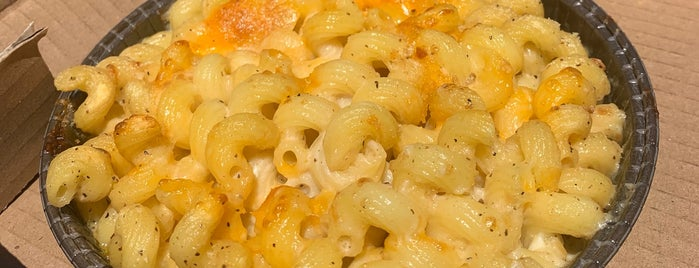 Bobbie Sue's Mac + Cheese is one of Want to try.