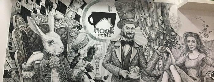 Nook Coffee is one of Gespeicherte Orte von Darren.