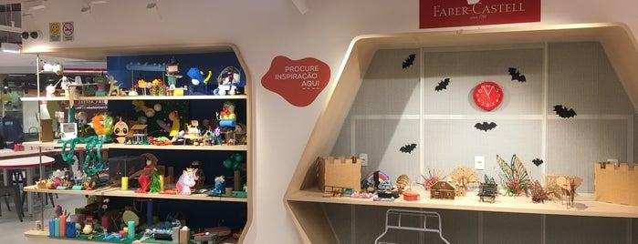 Faber-Castell - Espaço de Criatividade e Inovação is one of Locais curtidos por Belisa.