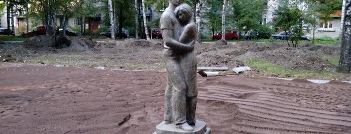 Памятник влюблённым is one of СПб.