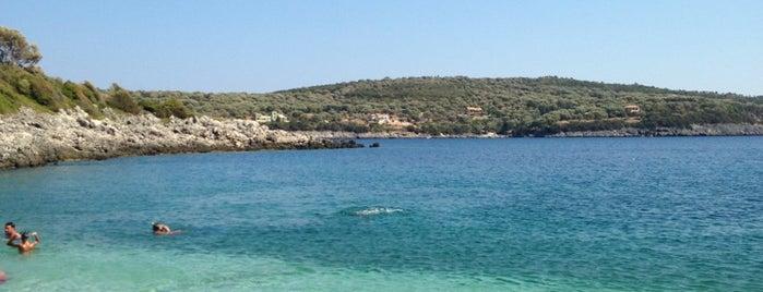 Ammousa Beach is one of lefkada.
