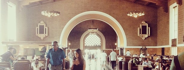 Union Station is one of #myhints4LosAngeles.