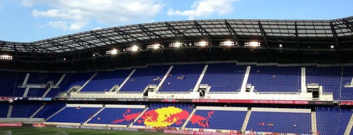 Red Bull Arena is one of Stadium Tour.