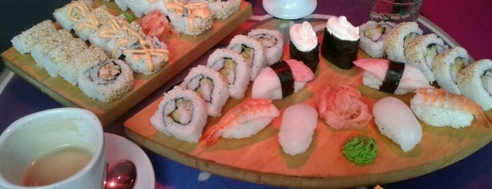 Sushimon is one of Sushi Sampler.