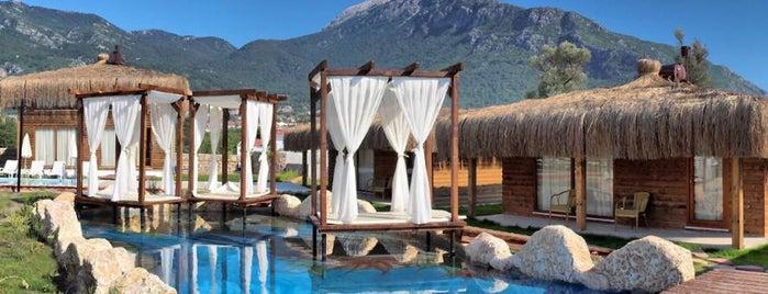 Sahra Su Luxury Resort & SPa is one of Fethiye Turkey.