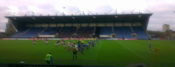 Kassam Stadium is one of Venues....