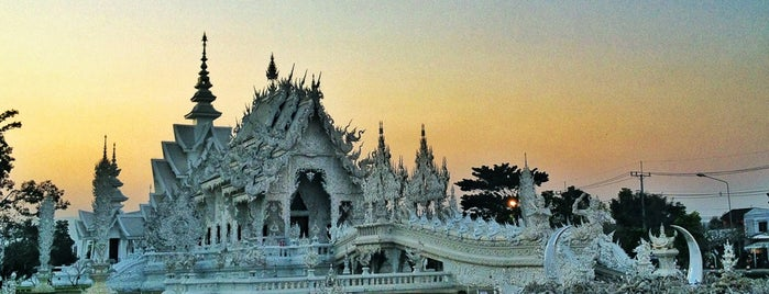 Wat Rong Khun is one of Hello Asia.