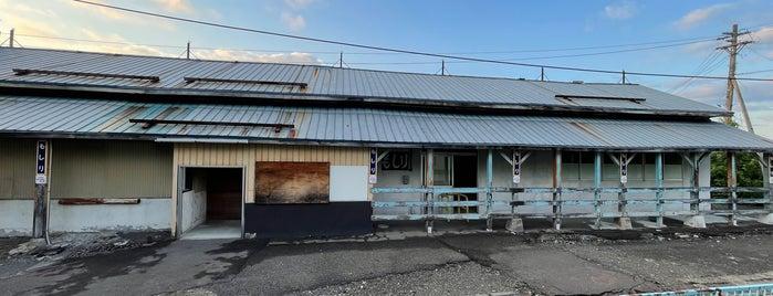 Moshiri Station is one of JR 홋카이도역 (JR 北海道地方の駅).