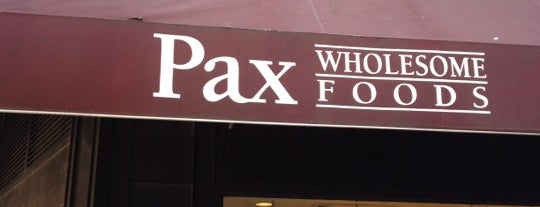 Pax Foods is one of Columbus Circle Eats.