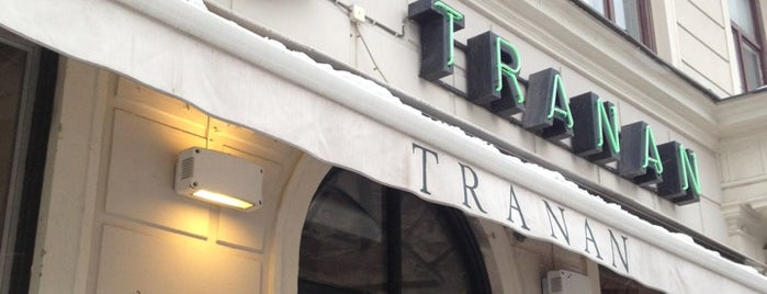 Restaurang Tranan is one of Stockholm.