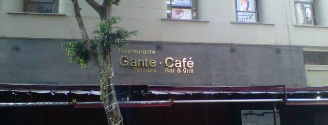 Gante Café is one of Café / Té & Pan.