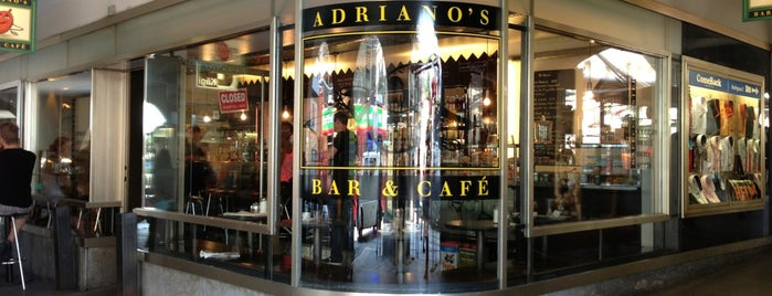 Adriano's Bar & Café is one of From 21.07.2018.