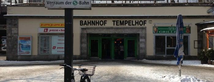 S+U Tempelhof is one of U & S Bahnen Berlin by. RayJay.