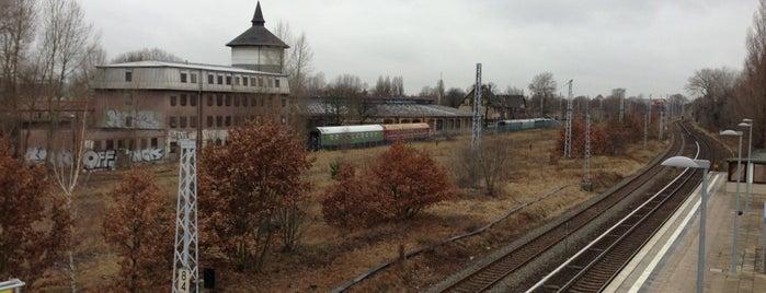 S Betriebsbahnhof Schöneweide is one of U & S Bahnen Berlin by. RayJay.