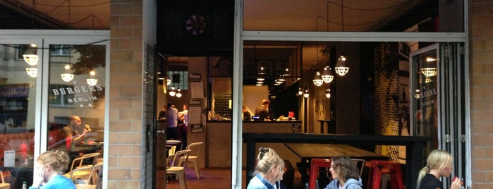 Burgers Berlin is one of Lieux sauvegardés par N..