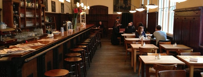Weltrestaurant Markthalle is one of Berlin Bars and Restaurants.