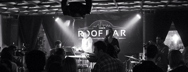 Roof Garden Restaurant & Roof Jazz Bar is one of izmir.
