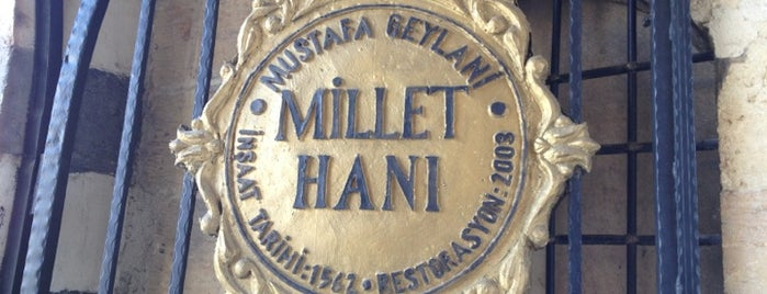 Tarihi Millet Hanı is one of Tempat yang Disukai Engin.