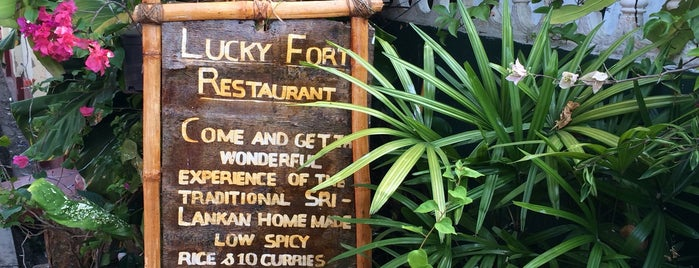 Lucky Fort Restaurant is one of Sri Lanka.