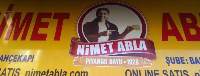 Nimet Abla is one of Lieux sauvegardés par Sibel.