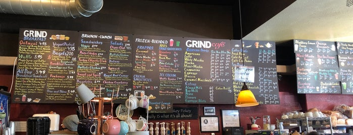 The Grind Coffee House is one of Utah.