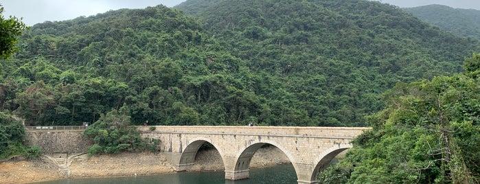 Tai Tam Tuk Reservoir is one of Hong Kong.