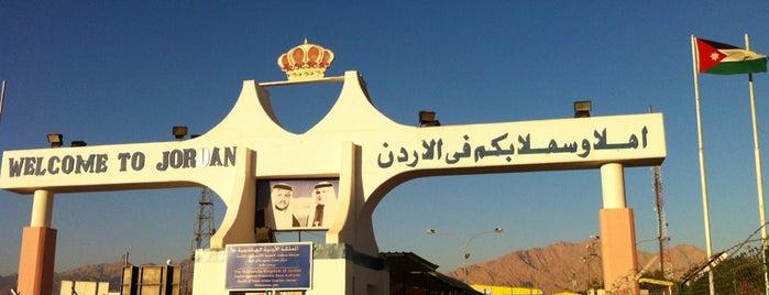 Jordan - Israel Border Crossing is one of Tempat yang Disukai Michael.