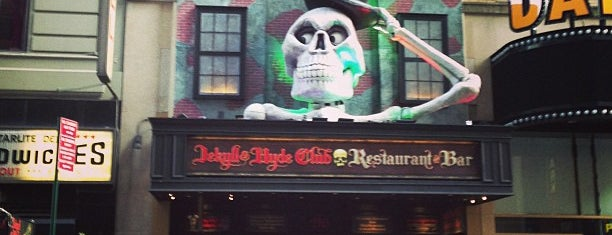 Jekyll & Hyde Club | Restaurant & Bar is one of Famous places.