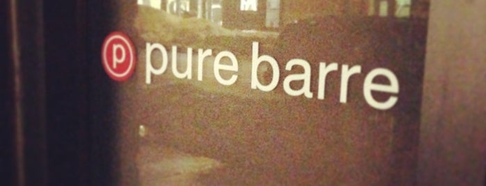 Pure Barre Boston is one of BOS.