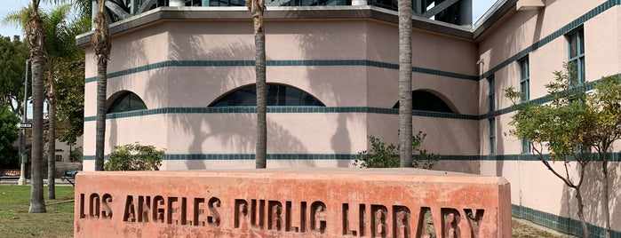 Los Angeles Public Library - Venice - Abbot Kinney Memorial is one of Lalaland.