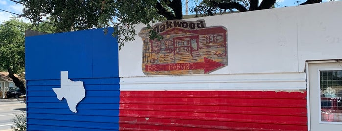 Oakwood BBQ is one of Places to go in Austin.