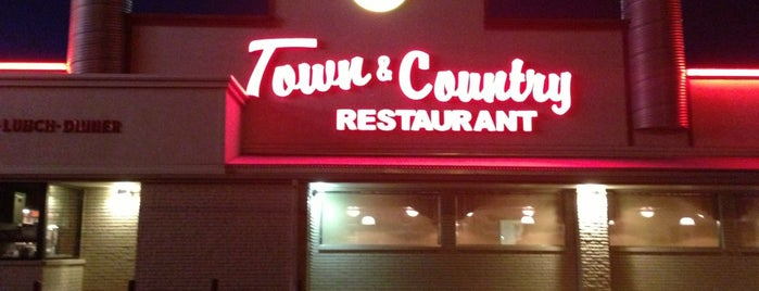 Town & Country Restaurant is one of Restaurants I've Tried.