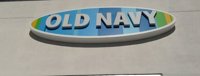 Old Navy is one of Places To Shop.