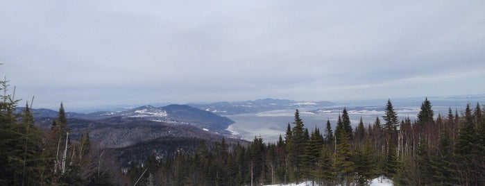 Le Massif de Charlevoix is one of Ski The East.