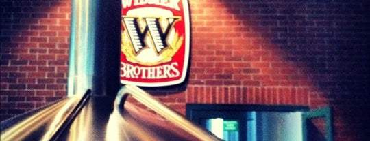 Widmer Brothers Brewing is one of Oregon Breweries.