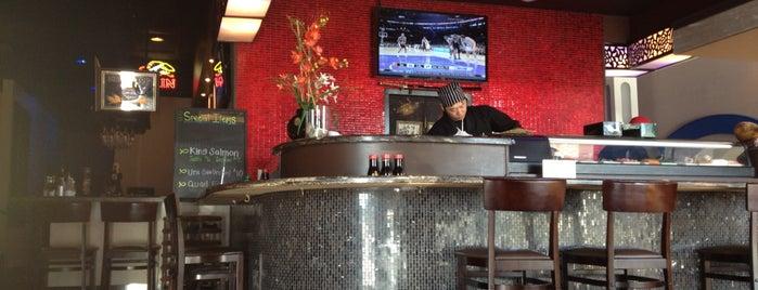 Naked Fish Sushi is one of สถานที่ที่ Mel ถูกใจ.