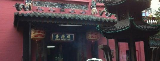 Phước Hải Tự ( Ngọc Hoàng Điện ) 福海寺(玉皇殿) is one of Ho-Chi-Minh.