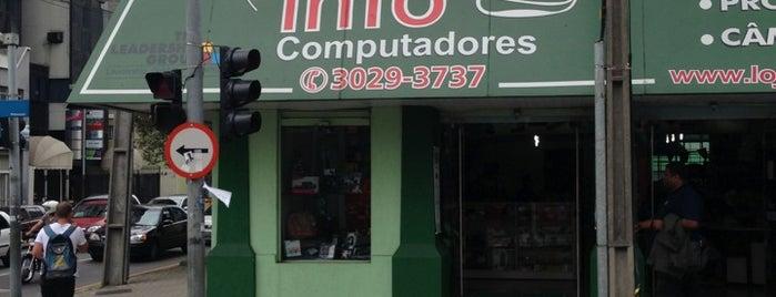 Espaço Info Computadores is one of สถานที่ที่ Ana Beatriz ถูกใจ.
