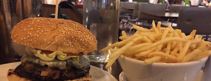 Gourmet Burger Kitchen is one of London Scrapbook.