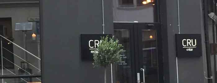 Cru is one of Oslo Eating.